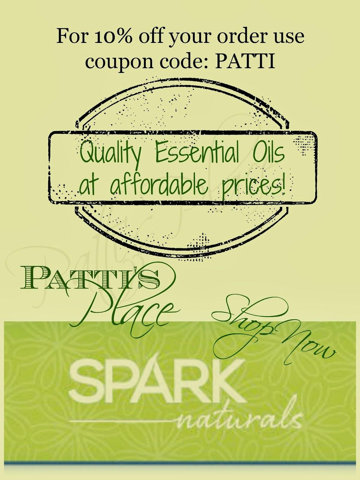 Buy Spark Naturals Oils!