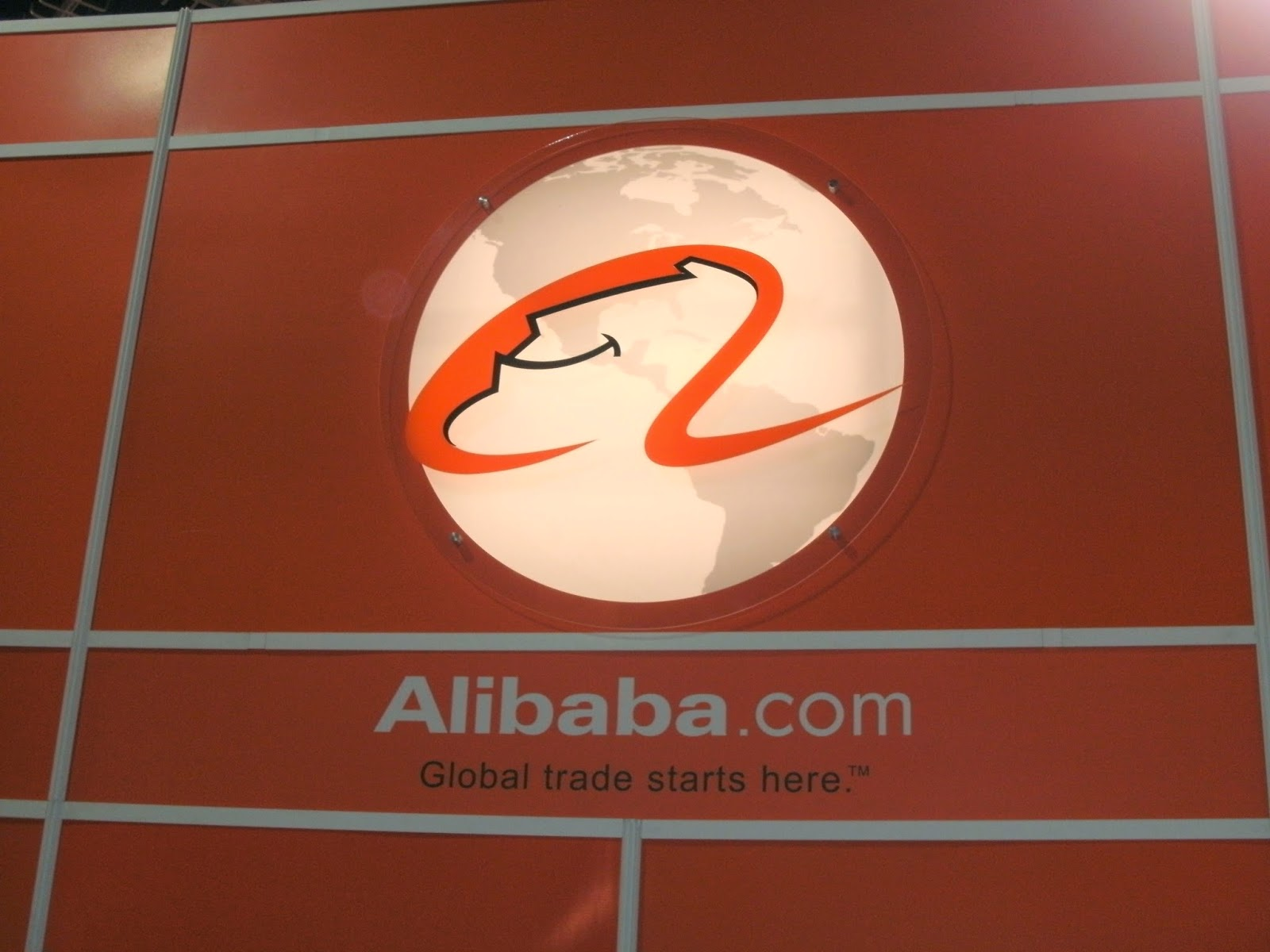 Alibaba logo, scam, fraud, fake iPhone,