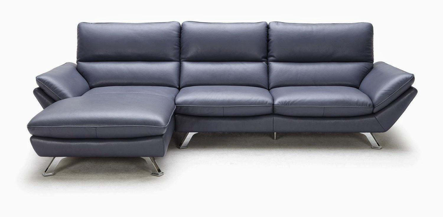Light Blue Leather Sectional Sofa Light Blue Leather