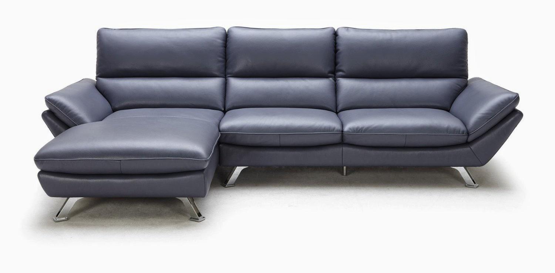 Light blue leather sectional sofa light blue leather Blue leather sofa