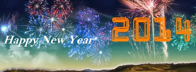 New Year 2014 Facebook Banners