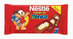 chocolate turma da monica anos 90