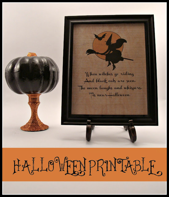 Halloween, Printable, Vintage, Witch