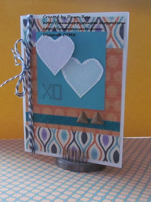 ... Stamper: CTMH January Stamp of the Month Blog Hop: Cross-Stitch Wishes