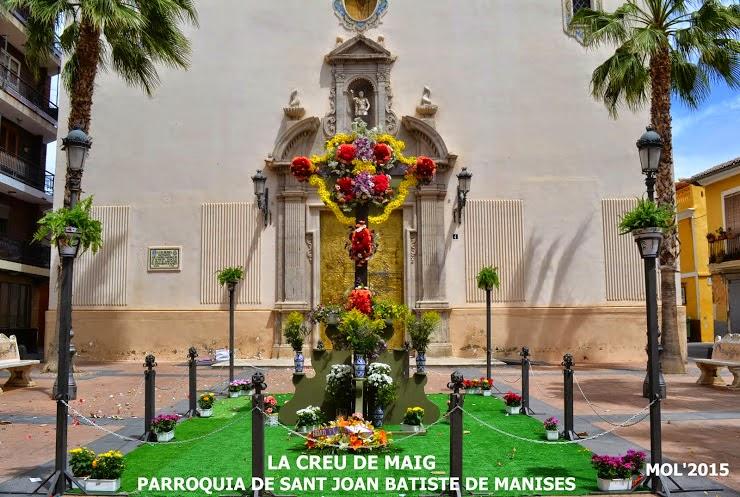 LA CREU DE MAIG 2015, ACTES DEL DIA 3, P. S. JOAN BATISTE