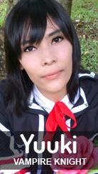 Cosplay Yuuki Kurosu de Vampire Knight por Pah-chan