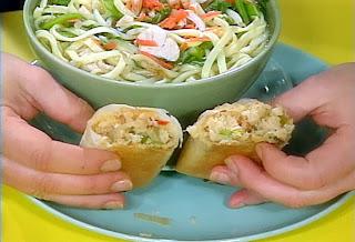 Vegetable RollsBaked Crab Spring Rolls