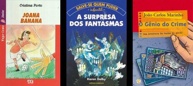 Livros infantojuvenis para o dia das crianças Coleção Vaga-lume Salve-se quem puder e Turma do Gordo