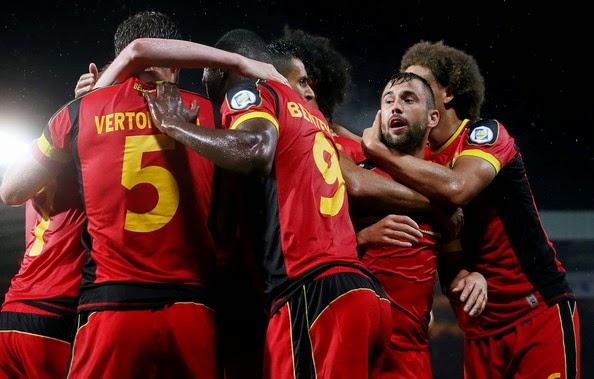 Piala Dunia  - Belgia vs Aljazair, Bertabur Bintang Kini Saatnya Belgia Bersinar di Piala Dunia 2014