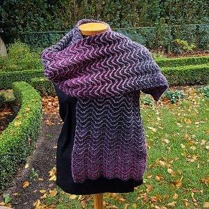 Zigzag sjaal