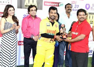 Chennai Rhinos vs Karnataka Bulldozers Semifinals Match in Hydrabad Pictures.JPG
