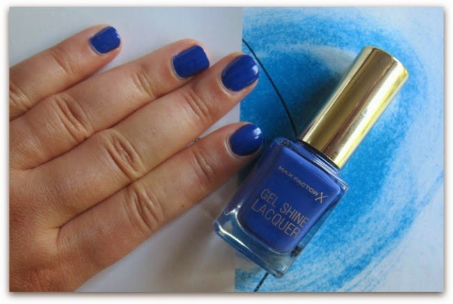 Max Factor Gel Shine Lacquer Glazed Cobalt