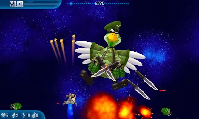 Chicken Invaders 5 Gameplay IOS / Android