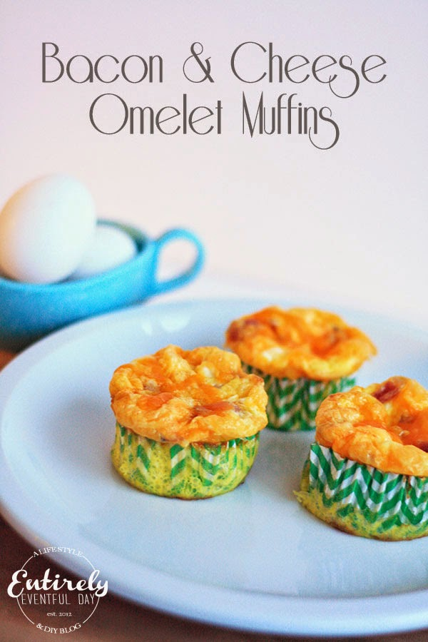 Easy and healthy breakfast. Omelet muffins... genius!