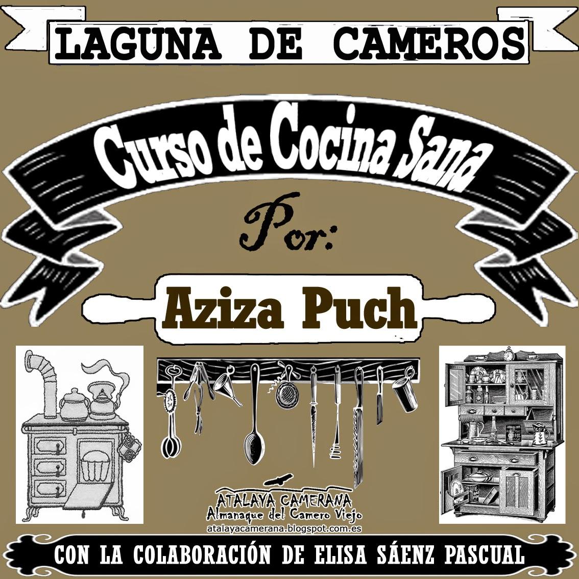 Laguna de Cameros: Curso de Cocina Sana por Aziza Puch
