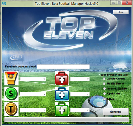 Top Eleven New Hack 2013 Free