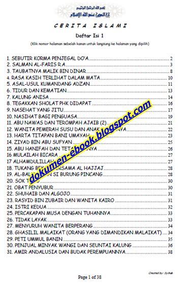 Download Ebook Gratis Kumpulan Cerita Islami image