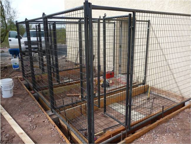 Petsafe for Dog kennel in garage ideas