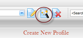 How to create a new export profile for converting .eml files in EmlViewer Pro.
