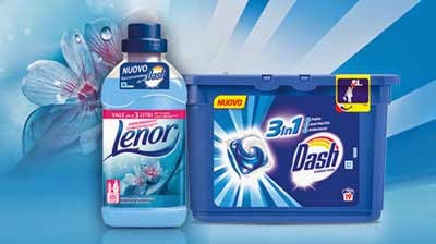 Lenor Ammorbidente Dash Ecodosi