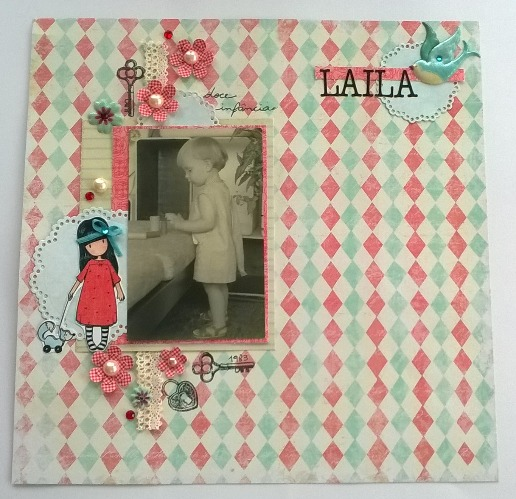 Scrapbook Challenge: July