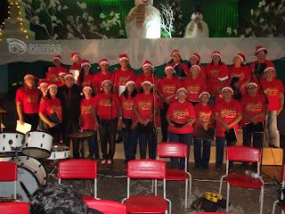 Evento natalino emociona Baraúna na noite desta terça-feira (22)