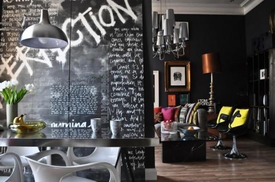 Art Home Deco home decor design: awesome pop-art and art-deco london apartment