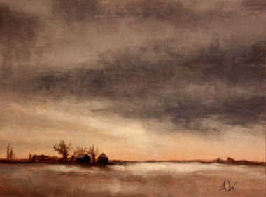 'winter storm passing' 9x12