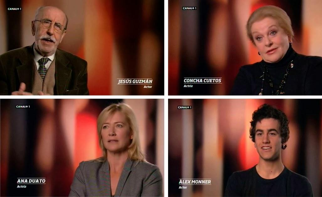 Cuatro generaciones de actores, Farmacia de Guardia, Cuéntame cómo pasó, Crónicas de un pueblo, Polseres Vermelles, España en serie