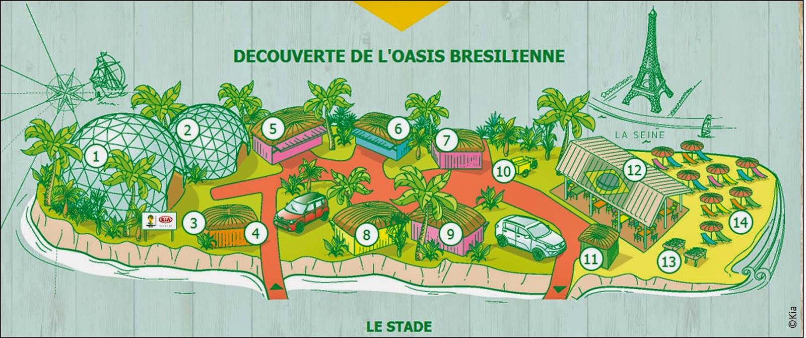 Coupe du monde fan zine Kia cabana Berges de Seine Paris