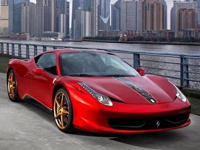 Edição especial Ferrari da 458 Italia para a china