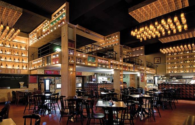 decoracao de interiores de baresARQUITED Projeto de decoração de