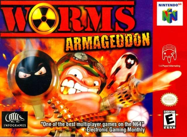 Worms Armageddon ROMs Nintendo64 Español