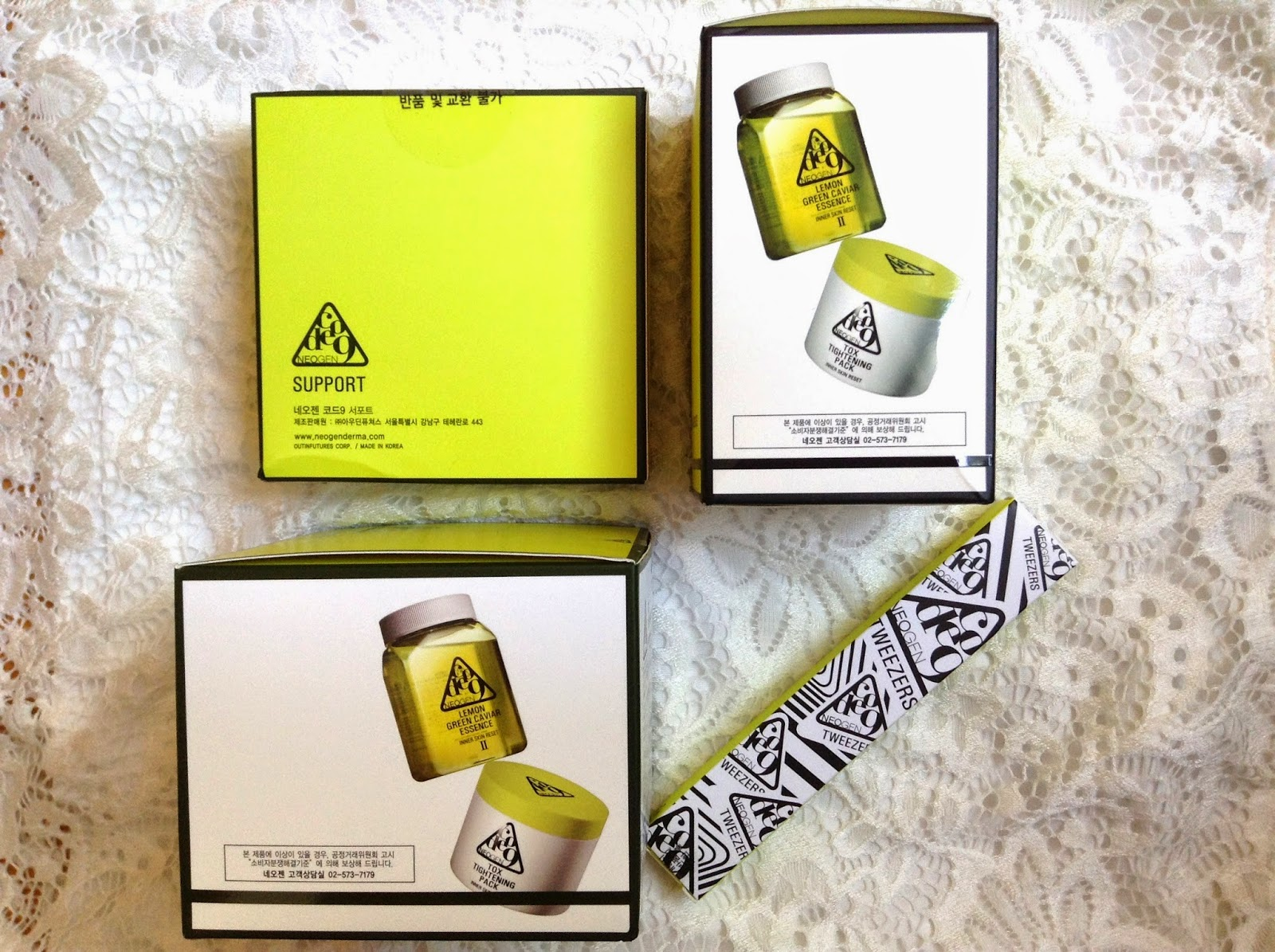 >> 大忙人恩物 抹拭型面膜*韓國醫學護膚品牌 NEOGEN 檸檬魚子全效面膜 Lemon Green Caviar Essence & Tox Tightening Pack