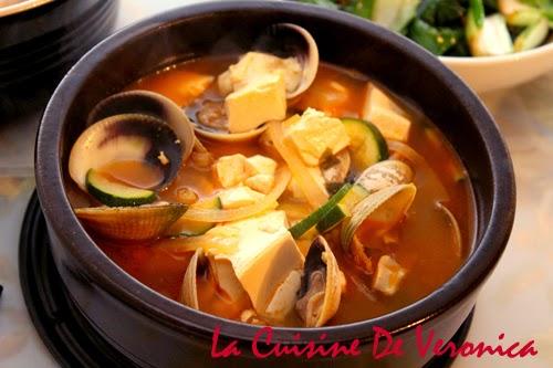 La Cuisine De Veronica,V女廚房,韓國,韓國辣豆腐海鮮湯,Haemul Sundubu Jjigae