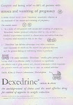 Dexedrine solves all problems of pregnancy!
