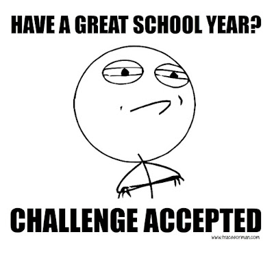 Have a great school year? Challenge Accepted.