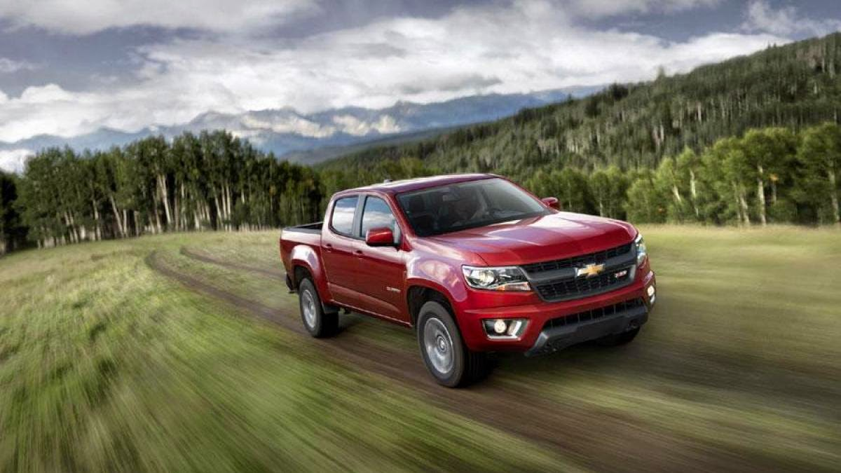 News - Midsize 2015 Chevy Colorado coming fall 2014