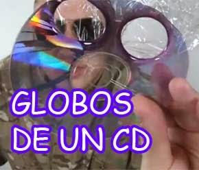 sacar globos de un disco compacto