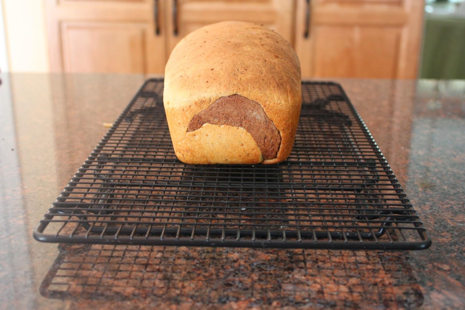 vegan peanut butter swirl bread