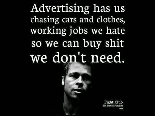 How in modern days materialism and consumerism are eroding moral values? (examples are welcome.)?