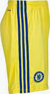 jual celana bola chelsea away 2014/2015, grade ori, ready stock,tempat jual online grade ori
