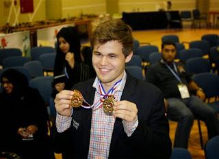 Magnus Carlsen, Roi des échecs