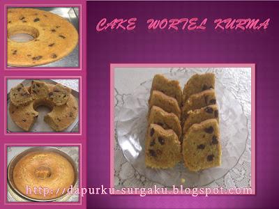 Olahan Wortel, Resep Cake Wortel