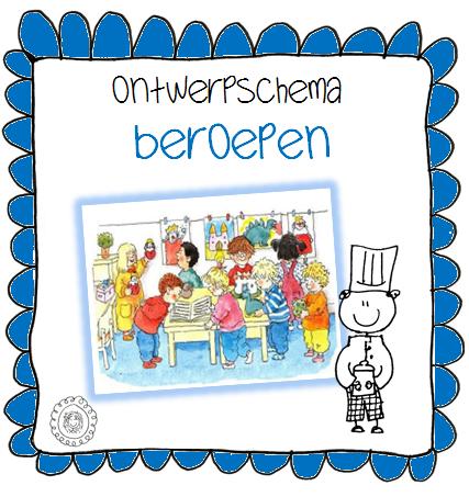 Kleuterjuf in een kleuterklas: Ontwerpschema | Thema BEROEPEN: www.kleuterjufineenkleuterklas.nl/2013/11/ontwerpschema-thema...