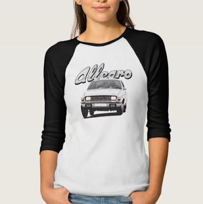 Austin Allegro t-paita Zazzle pitkähihainen