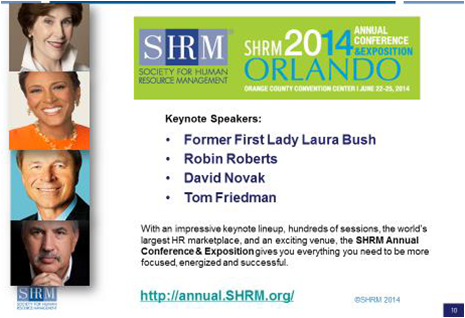 SHRM 2014 Conference
