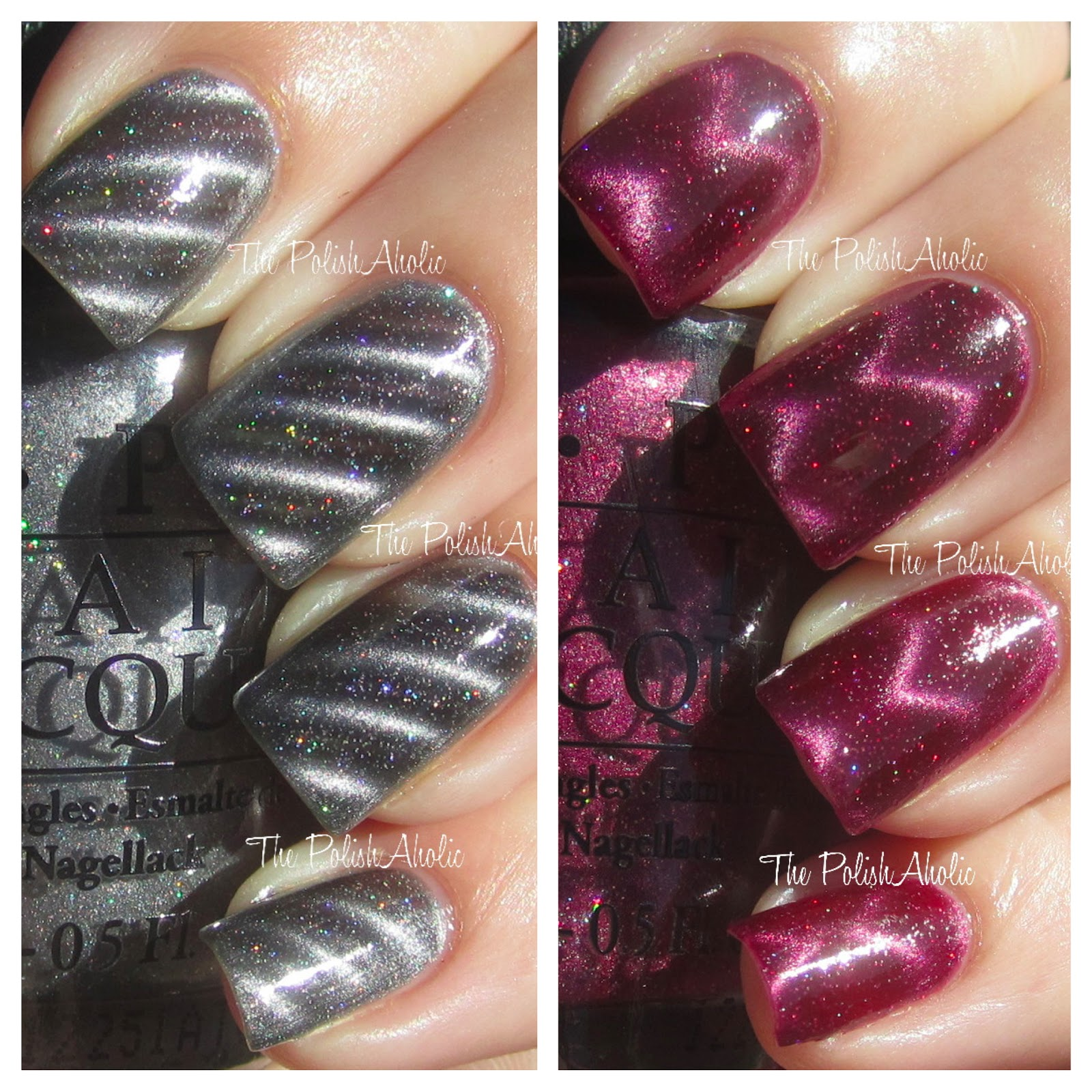 The PolishAholic: OPI Skyfall Collection Magnetic Polishes: Is That ...