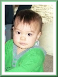 My lovely grandson Alexander