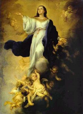 ASUNCIÓN DE LA VIRGEN MARÍA Solemnidad 15 de Agosto